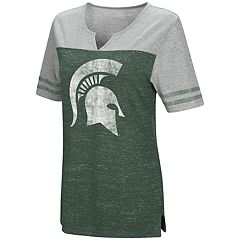 Women's Campus Heritage Michigan State Spartans On The Break Tee