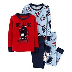 Baby Boy Carter's Skateboarding Monster Tops & Bottoms Pajama Set