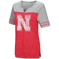Women's Campus Heritage Nebraska Cornhuskers On The Break Tee
