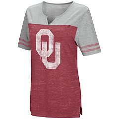 Women's Campus Heritage Oklahoma Sooners On The Break Tee