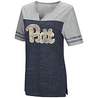 Women's Campus Heritage Pitt Panthers On The Break Tee