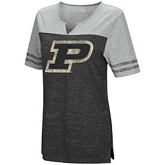 Women's Campus Heritage Purdue Boilermakers On The Break Tee