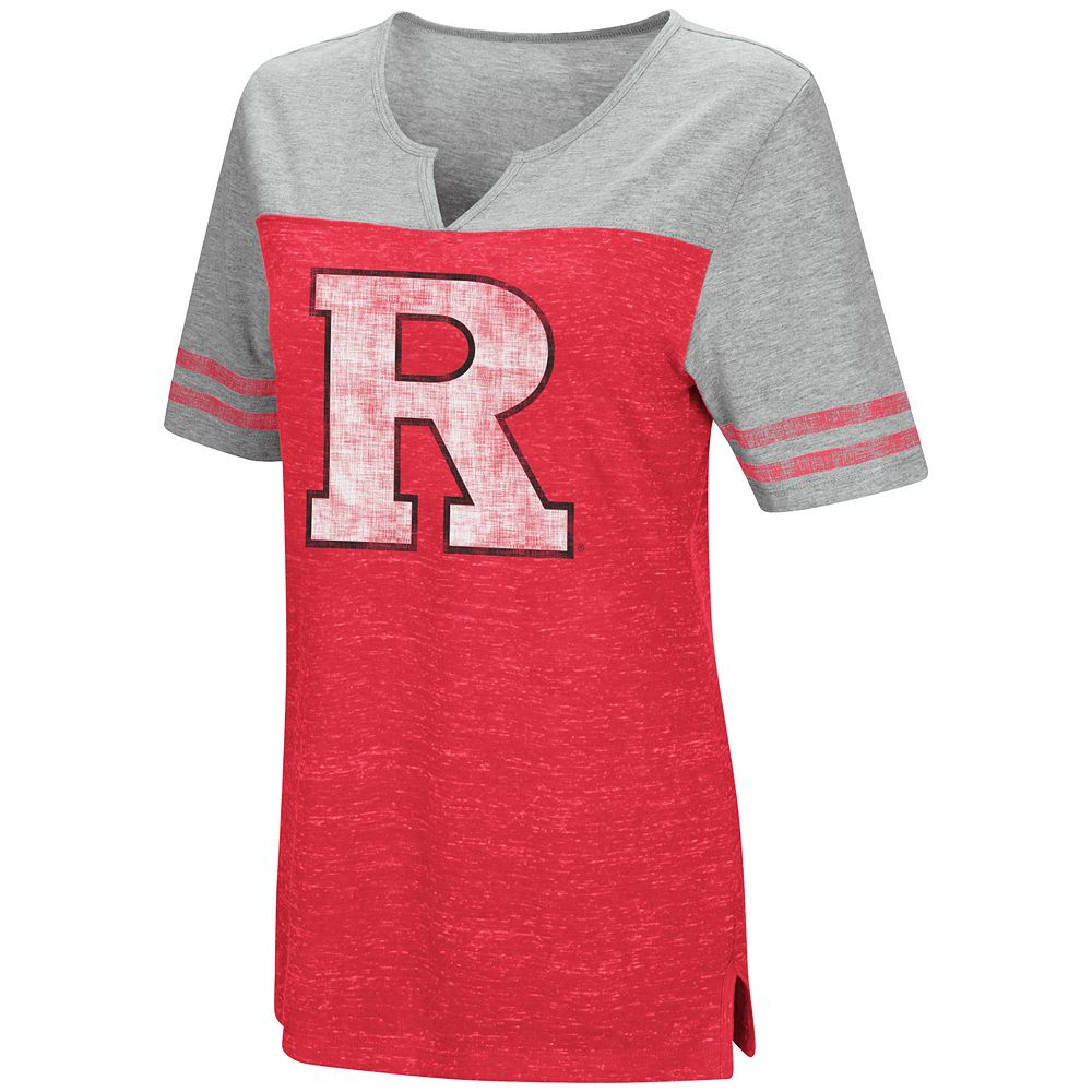 Women's Campus Heritage Rutgers Scarlet Knights On The Break Tee