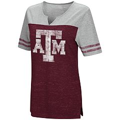 Women's Campus Heritage Texas A&M Aggies On The Break Tee