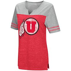 Women's Campus Heritage Utah Utes On The Break Tee