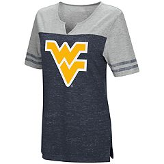 Women's Campus Heritage West Virginia Mountaineers On The Break Tee