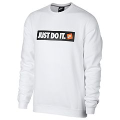 Men's Nike 'Just Do It' Fleece Crew