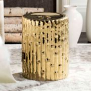 Safavieh Metallic Indoor / Outdoor Stool