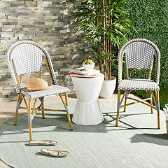 Safavieh Indoor / Outdoor Stacking Bistro Chair 2-piece Set