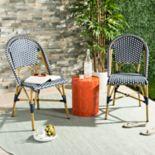 Safavieh Indoor / Outdoor Stacking Bistro Chair 2-piece Set