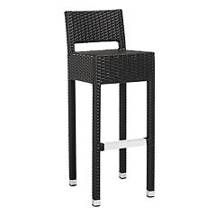 Safavieh Indoor / Outdoor Wicker Bar Stool