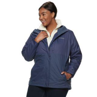 Plus Size Columbia Ramona Falls Hooded 3-in-1 Jacket