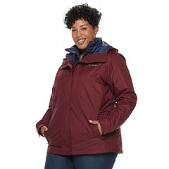 Plus Size Columbia Ramona Falls Hooded 3-in-1 Jacket