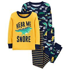 Toddler Boy Carter's 'Hear Me Snore' Donisaur Tops & Bottoms Pajama Set