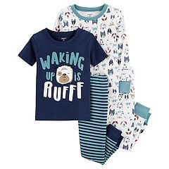 Toddler Boy Carter's 'Waking Up Is Ruff' Puppy Dog Tops & Bottoms Pajama Set