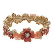 Napier Flower Stretch Bracelet