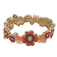 Napier Flower Stretch Bracelet