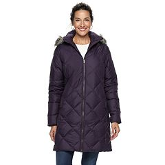 Women's Columbia Icy Heights II Hooded Mid-Length Down Jacket