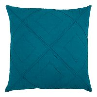 Rizzy Home Deconstructed Diamond Geometric Throw Pillow