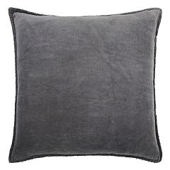 Rizzy Home Velvet Solid II Throw Pillow
