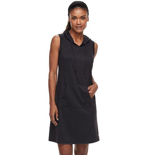 51a6384b8b22 Petite Tek Gear® Hooded Sleeveless Dress