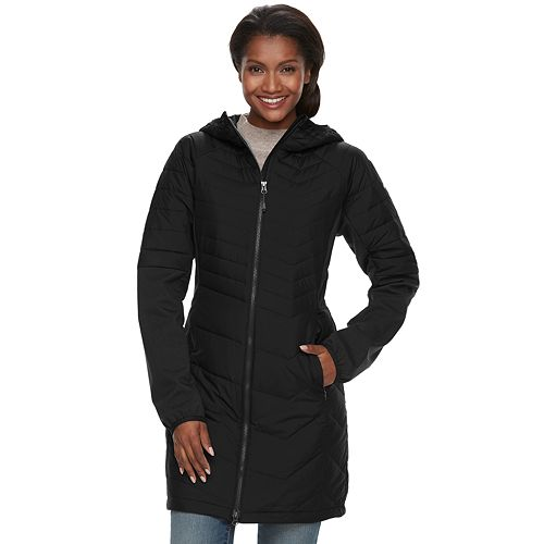 ef817f3847c2 Women s Columbia Oyanta Trail Thermal Coil Long Hybrid Jacket