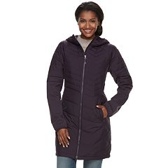 Women's Columbia Oyanta Trail Thermal Coil Long Hybrid Jacket