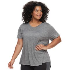 Plus Size Tek Gear® Vented Hem Tee