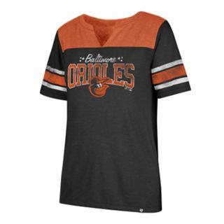Women's '47 Brand Baltimore Orioles Match Tri-Blend Tee