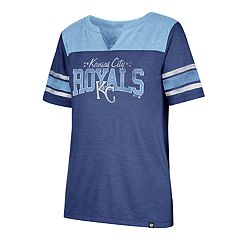 Women's '47 Brand Kansas City Royals Match Tri-Blend Tee