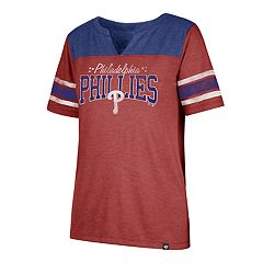 Women's '47 Brand Philadelphia Phillies Match Tri-Blend Tee