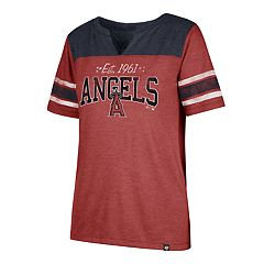 Women's '47 Brand Los Angeles Angels of Anaheim Match Tri-Blend Tee