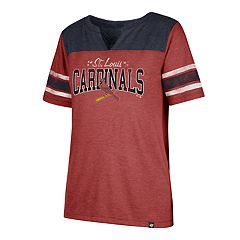 Women's '47 Brand St. Louis Cardinals Match Tri-Blend Tee