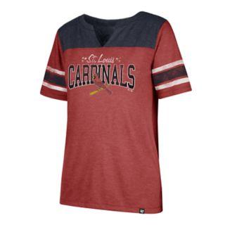 Women's '47 Brand St. Louis Cardinals Match Tri-Blend Tee