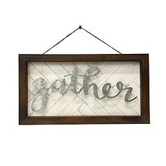 SONOMA Goods for Life™ 'Gather' Farmhouse Wall Decor