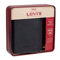 Men's Levi's RFID-Blocking Extra-Capacity Trifold Wallet