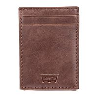 Men's Levi's® RFID-Blocking Front-Pocket Wallet With Magnetic Money Clip