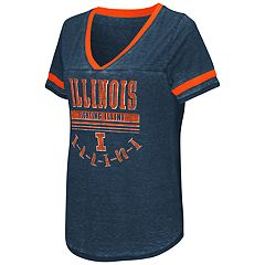Women's Campus Heritage Illinois Fighting Illini Gunther Jersey Tee