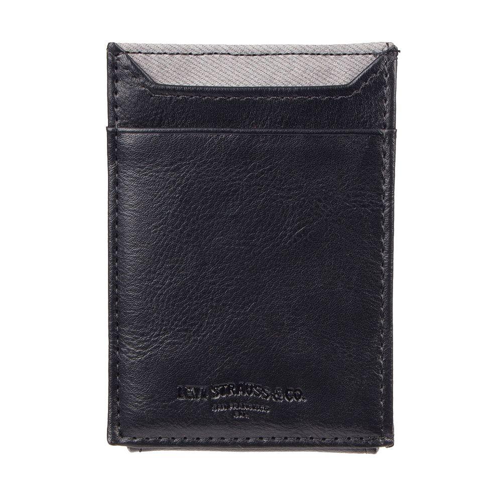 Men's Levi's® RFID-Blocking Front Pocket Wallet With Magnetic Money Clip