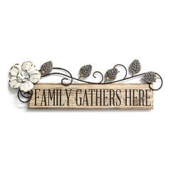 Stratton Home Decor 'Family' Wall Decor