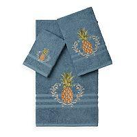 Linum Home Textiles Welcome 3 pc Embellished Bath Towel Set
