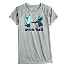 Girls 7-16 Under Armour Big Logo Short Sleeve Tee