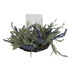 SONOMA Goods for Life™ Artificial Lavender Farmhouse Candle Holder