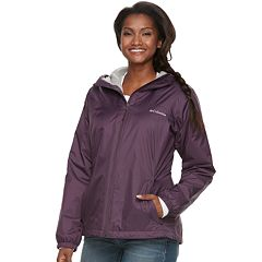 Women's Columbia Rain to Fame Hooded Rain Jacket