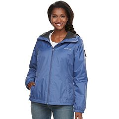 Women's Columbia Rain to Fame Sherpa-Lined Hooded Rain Jacket