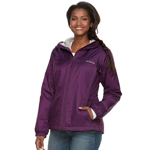 Women's Columbia Switchback Sherpa-Lined Hooded Rain Jacket