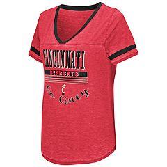 Women's Campus Heritage Cincinnati Bearcats Gunther Jersey Tee