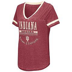 Women's Campus Heritage Indiana Hoosiers Gunther Jersey Tee
