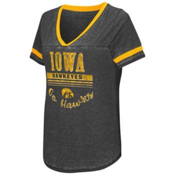 Women's Campus Heritage Iowa Hawkeyes Gunther Jersey Tee