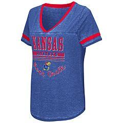 Women's Campus Heritage Kansas Jayhawks Gunther Jersey Tee